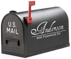 another cute mailbox decal on Etsy