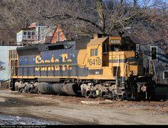 RailPictures.Net Photo: NREX 6418 National Railway Equipment (NREX) EMD SD45 at Fountain City, Wisconsin by Jeffrey Streiff