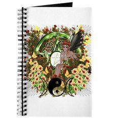 Pentacle Fairy Elf Art Journal