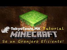Se un granjero eficiente en Minecraft!