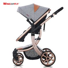 Baby stroller summer landscape light shock can sit down to Russia free shipping