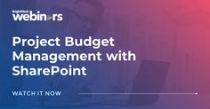 [On-demand webinar] Project Budget Management with SharePoint #SharePoint2019 #SharePoint2016 #SharePoint2013 #SharePoint #projectmanagement #projects #PPM #PMO #BrightWork #PPMsoftware #budget #projectbudget #costmanagement #freewebinar