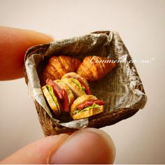 2017.11 Miniature Basket Bread ♡ ♡ By Comment Ca Va?