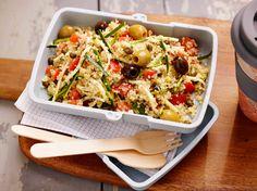 Salade de quinoa à la courgette et à la tomate
