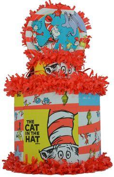 hats, cats, birthday parti, 1st bday, hat pinata