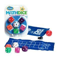 Math Dice Jr - um jogo de raciocínio matemático da Thinkfun - :: PITITI - Brinquedos, Livros e Jogos didáticos ::