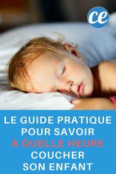 À Quelle Heure Votre Enfant Doit-il Se Coucher ? Le Guide Pratique SELON SON ÂGE.
