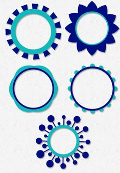 Brittany's SVG Files: Circle Frames