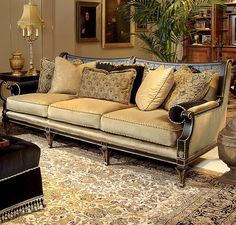 Comfort is the ultimate luxury. From classic traditional to streamlined contemporary, Century has always provided design integrity, meticulous tailoring and classic comfort for the most discriminating taste. Living Room Sofa, Home Living Room, Living Room Furniture, Living Room Decor, Modern Furniture, West Coast Living, Empire Furniture, Parks Furniture, Discount Furniture Stores