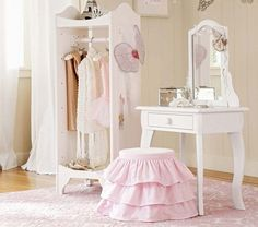 Claire Vanity and Stool | Pottery Barn Kids