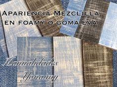 APARIENCIA DE MEZCLILLA EN FOAMY O GOMA EVA - YouTube Foam Crafts, Diy Crafts, New Hobbies, Making Out, Youtube, Base, Baby Shower, Patterns, Diy And Crafts