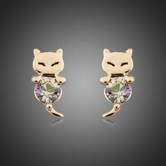 Lovely Mouselet Gold Plated Stellux Austrian Crystal Stud Earring Like it? Visit our store Fast Fashion, Trendy Fashion, Womens Fashion, Fashion Brand, All About Fashion, Passion For Fashion, Pretty Outfits, Beautiful Outfits, Fashion Accessories