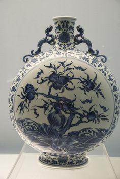 Porcelana chinesa no Museu de Xangai