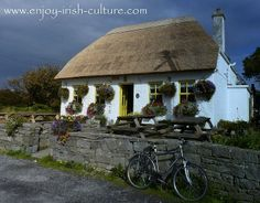 This cute Irish cottage can be found on Inishmore, one of the Aran Islands, County Galway, Ireland. Click on the photo to see this and more of our beautifulIreland photos on our Facebook page.