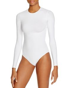 American Apparel Classic Long Sleeve Bodysuit