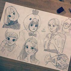 01102017 #artwork #artworks #drawing #illust #illustration #sketch #pencil