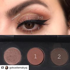 Farmasi Vice brown far paleti, … ・ ・ ・ Products used; Simple Eye Makeup, Makeup For Green Eyes, Blue Makeup, Smokey Eye Makeup, Skin Makeup, Brown Eyeshadow Palette, Eyeshadow Looks, Eyeshadow Makeup, Make Up Tutorial Contouring