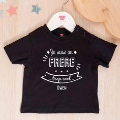 J' ai une grande soeur. bébé Cadeau Garçon Fille top nouveau-né à 5 S enfants t-shirt
