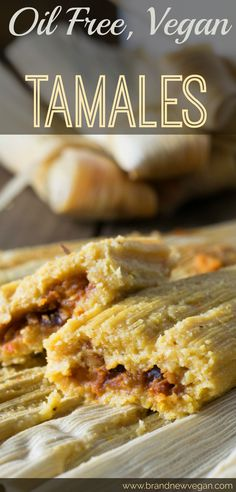 This year, I decided to make some homemade Tamales, and let me just say ... these Oil Free Vegan Tamales will definitely melt in your mouth and become a new holiday tradition!