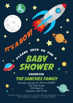 At the water 39 s edge super mario baby shower plus diy for Space themed stationery