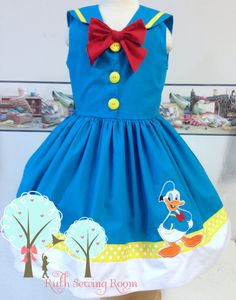 Sail Away with Donald Duck Cruise Vacation Dress Sailor Disney Inspired Outfits, Disney Outfits, Girl Outfits, Disney Clothes, Diy Disney Ears, Baby Disney, Baby Girl Wishes, Everyday Princess, Donald And Daisy Duck