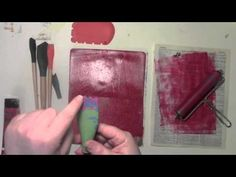 Using a Gelli Plate and a Catalyst tool with Carolyn Dube