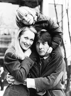 Meryl Streep, Dustin Hoffman, & Justin Henry in Kramer vs. Kramer, 1979