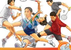 Indonesian Badminton Heroes