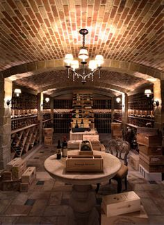 Wine Cellar Photos Old World Tuscan Design, Pictures, Remodel, Decor and Ideas - page 5