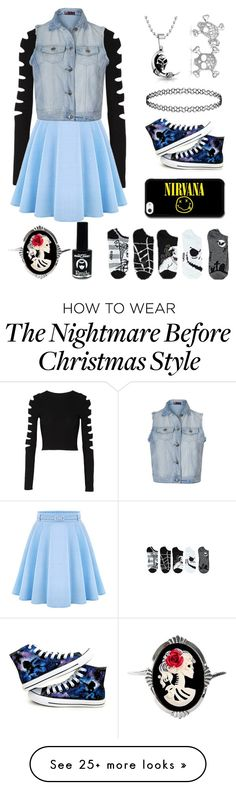 """Cute❤️❤️❤️"" by alexandria2106 on Polyvore featuring Bling Jewelry, Converse, Cushnie Et Ochs, WithChic, Ally Fashion, Couture by Lolita, EMILY THE STRANGE, women's clothing, women's fashion and women"