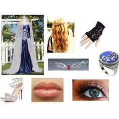 Untitled #43 by savannahlowrey on Polyvore featuring Christian Louboutin and TIARA