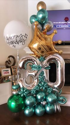 Birthday Balloon Decorations, Balloon Centerpieces, Birthday Balloons, Number Balloons, Letter Balloons, Balloon Flowers, Balloon Arch, Balloon Bouquet Delivery, Deco Ballon