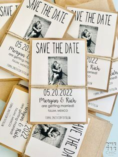 Ship your Tying The Knot Save the Date Cards and lets guests know they will, in fact, be invited to the celebration. Is made in ivory card stock with twine. It's perfect for rustic chic weddings !!! Click to know more. Laser Cut Save The Dates, Save The Date Cards, Rustic Wedding Stationery, Laser Cut Wedding Invitations, Cream Wedding, Chic Wedding, Rustic Wedding Save The Dates, Destination Wedding Inspiration, Ceremony Decorations