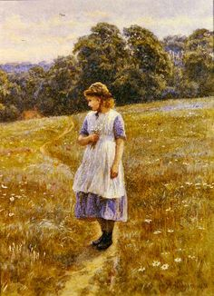 Daydreamer, 1878 Helen Allingham