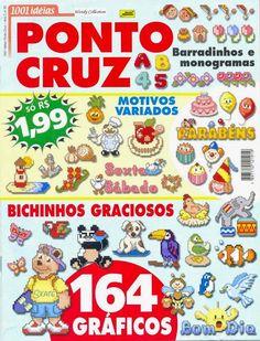 Revistas de manualidades Gratis: animales punto cruz
