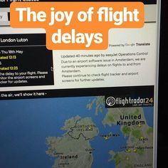 Airport Software problems being blamed for flight delays.