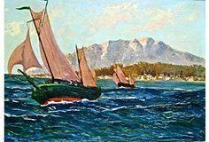 Pair of Sailboats