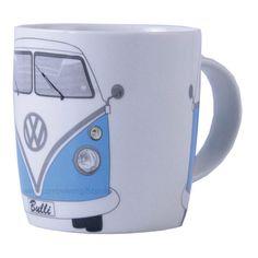 Campervan Gift - Official VW Blue Campervan Mug, £8.95 (http://www.campervangift.co.uk/official-vw-blue-campervan-mug/)