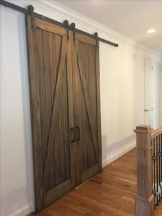 Awesome Replacement For Bifold Doors!! | Barn Doors U0026 Other Doors |  Pinterest | Custom Pantry, Barn Doors And Larder