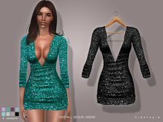 Add a pair of high heels and you're good to go. Inspired by something Kendall once wore. Found in TSR Category 'Sims 4 Female Everyday'