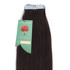 Soiree-Passion Tape-In Virgin Indian Hair. Highest quality, Remy class, Virgin Indian Hair with tape-ib attachment for easy application. Hair has not been coloured, permed or processed. Virgin Indian Hair, Virgin Hair, Indian Hairstyles, 100 Human Hair, Tape, Passion, Color, Duct Tape, Colour