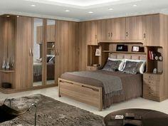 Wardrobe Design Bedroom, Bedroom Furniture Design, Bed Furniture, Bedroom Decor, Dorm Room Designs, Bedroom Cupboard Designs, Bedroom Cupboards, Bedroom Storage For Small Rooms, Small Master Bedroom