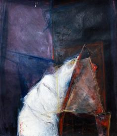 "Saatchi Art Artist Naim Gashi; Painting, ""Kompozcon 1 (Composition 1)"" #art"