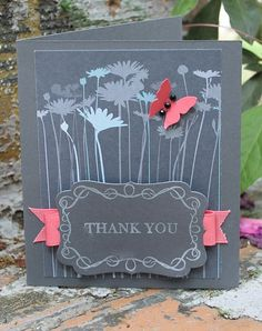 Thank You  #cards #crafts
