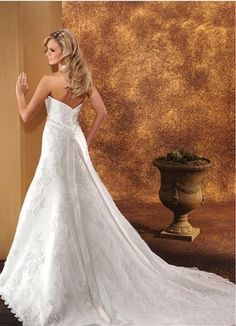 A-Line/Princess Halter Cathedral  Bridal Gowns
