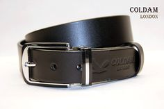 COLDAM LONDON CM41- Black Calfskin leather