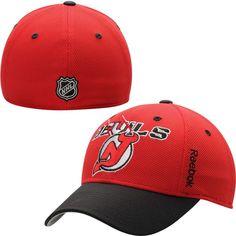 New Jersey Devils Reebok Youth Second Season Flex Hat - Red