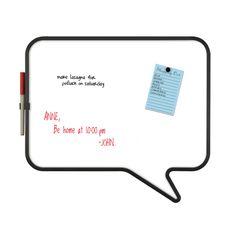 Fab.com | Talk Dry Erase Board White