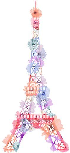 Flower Eiffel Tower Paris