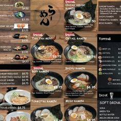 Image result for ohjah noodle house Noodle House, Las Vegas Restaurants, Noodles, Beef, Spaces, Dining, Image, Food, Macaroni